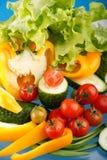 Verse groenten. Stock Fotografie