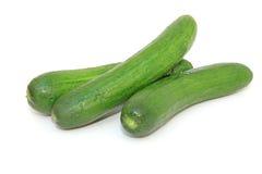 Verse groenten die op wit worden geïsoleerdg Royalty-vrije Stock Fotografie