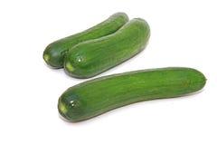 Verse groenten die op wit worden geïsoleerdo Stock Fotografie