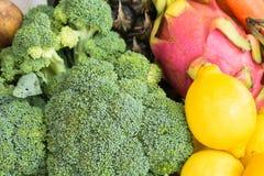 Verse Groenten en Vruchten Royalty-vrije Stock Afbeelding