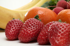 Verse groenten en vruchten Royalty-vrije Stock Foto