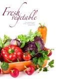Verse groenten in kom royalty-vrije stock foto