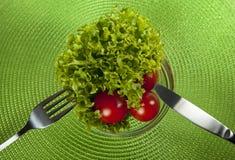 Verse groenten op plaat Royalty-vrije Stock Foto's