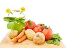 Verse groenten van de tuin Stock Fotografie