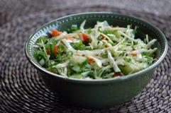 Verse groentesalade Royalty-vrije Stock Foto's