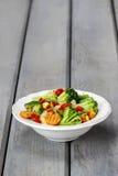 Verse groentesalade Stock Foto