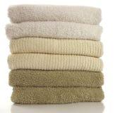 Verse handdoeken Stock Afbeeldingen