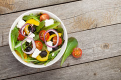 Verse healty salade royalty-vrije stock foto