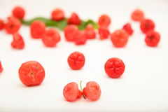 Verse Heerlijke djamboevruchten Stock Foto's