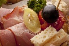 Verse heerlijke sandwiches stock foto's