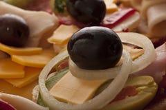 Verse heerlijke sandwiches Royalty-vrije Stock Afbeeldingen
