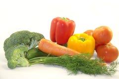 Verse heldere groenten Royalty-vrije Stock Afbeeldingen
