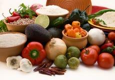 Verse ingrediënten voor salsa   Royalty-vrije Stock Foto