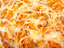 Verse Italiaanse pizza Royalty-vrije Stock Afbeelding