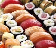 Verse Japanse sushi Stock Afbeeldingen