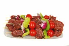 Verse kebab. Royalty-vrije Stock Fotografie