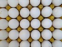 Verse kippeneieren bij Indische Straatmarkt Royalty-vrije Stock Afbeeldingen