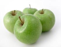 Verse knapperige appelen Stock Foto's