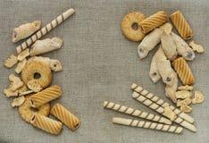 Verse koekjes Royalty-vrije Stock Fotografie