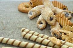 Verse koekjes Royalty-vrije Stock Afbeelding