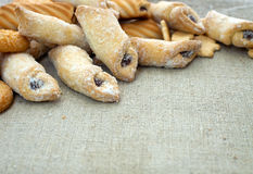 Verse koekjes Royalty-vrije Stock Foto