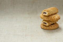 Verse koekjes Royalty-vrije Stock Foto's