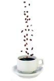 Verse Koffie Royalty-vrije Stock Foto's