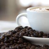 Verse koffie royalty-vrije stock afbeeldingen