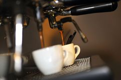 Verse koffie stock foto's