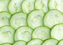 Verse komkommer en plakken Royalty-vrije Stock Afbeelding