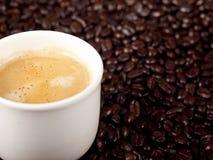 Verse kop van koffie Royalty-vrije Stock Afbeelding