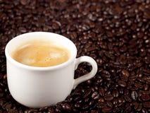 Verse kop van koffie Royalty-vrije Stock Foto's