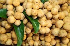 Verse Lansium domesticum Longkong in Thailand Royalty-vrije Stock Fotografie