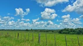Verse lucht van het platteland royalty-vrije stock foto's