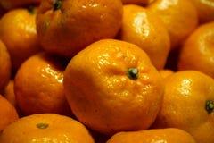 Verse mandarijntjes Stock Afbeeldingen