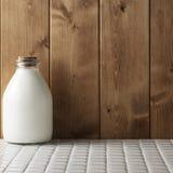 Verse melk royalty-vrije stock foto's