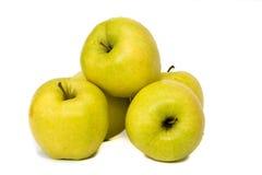 Verse mixure van vruchten en groente met witte achtergrond Stock Foto's