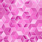 Verse moderne de lente-zomer abstrakt y achtergrond met kubussen Vector illustratie Royalty-vrije Stock Foto