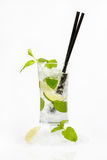 Verse mojitococktail Royalty-vrije Stock Afbeelding