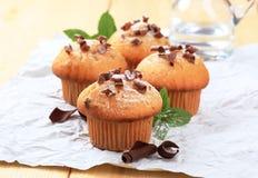 Verse muffins stock afbeelding