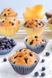 Verse Muffins Royalty-vrije Stock Afbeelding