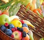Verse natuurvoeding - gezond voedsel royalty-vrije stock fotografie