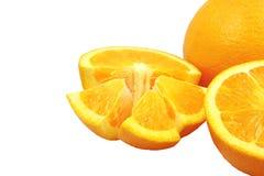 Verse Navelsinaasappel stock afbeelding