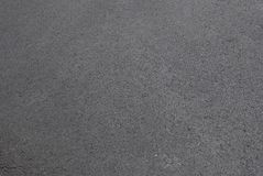 Verse nieuwe asfaltweg Stock Afbeelding