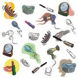 Verse objecten reeks Stock Afbeelding