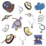 Verse objecten reeks Royalty-vrije Stock Afbeeldingen