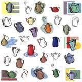 Verse objecten reeks Royalty-vrije Stock Afbeelding