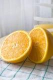 Verse oranje besnoeiing Stock Foto