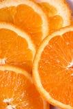 Verse oranje plak Royalty-vrije Stock Afbeeldingen