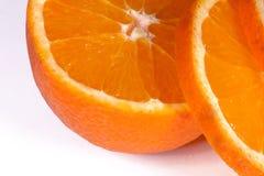 Verse oranje plak Royalty-vrije Stock Foto